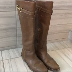 Coach - Horsebit Brown Riding Boots